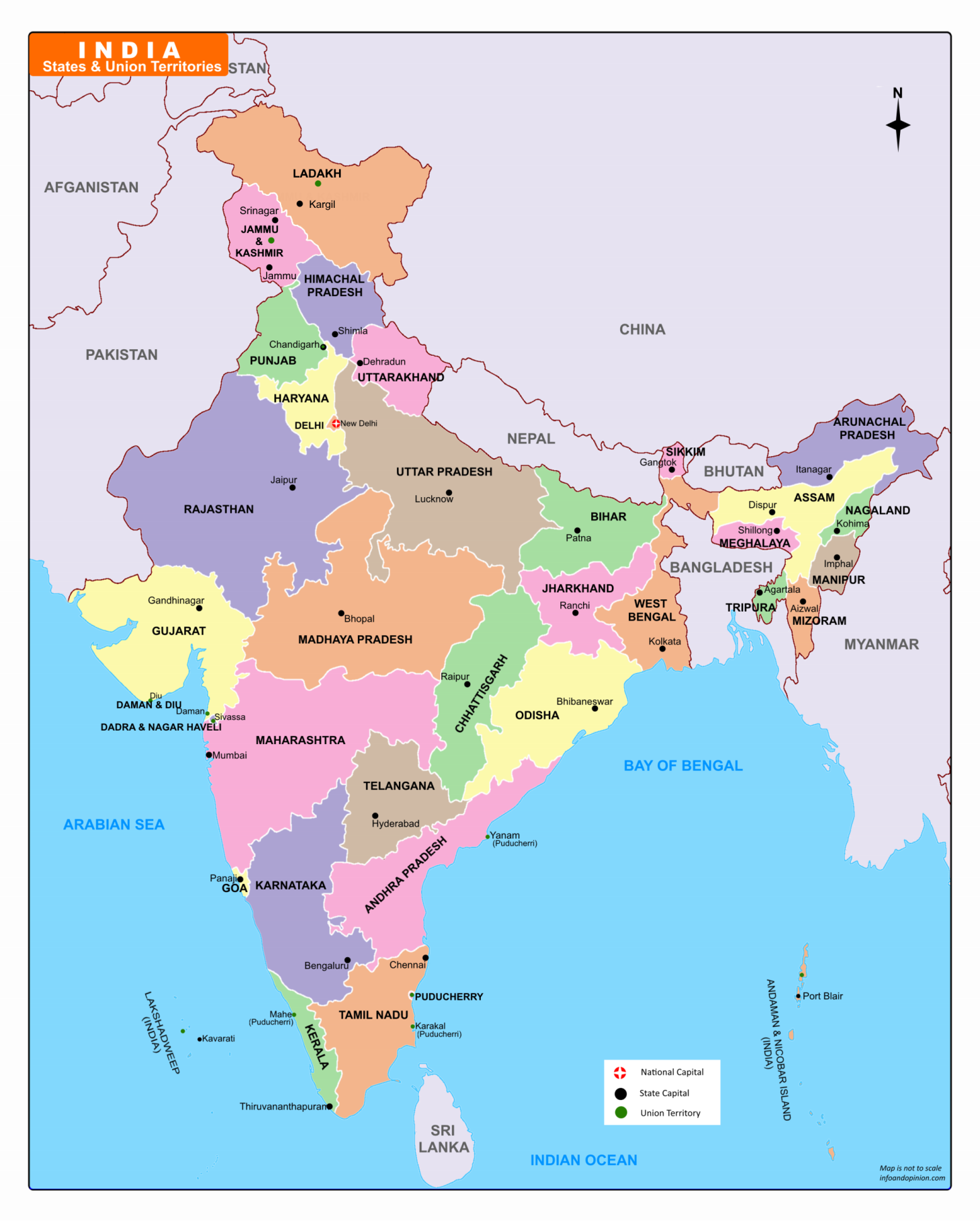 india map pdf download India Map 2019 Download Free Pdf Map With Uts Of J K And Ladkh india map pdf download