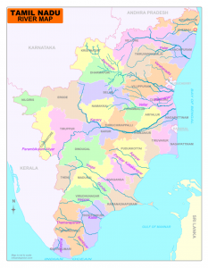 TamilNadu map River