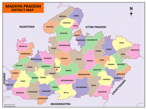 madhya pradesh map download