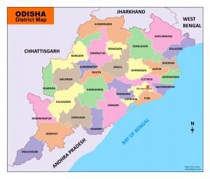 odisha map (orissa map ) download