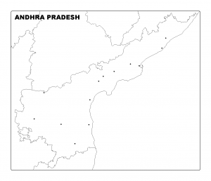 Download Andhra Pradesh Map Outline