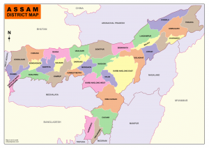Download Assam map