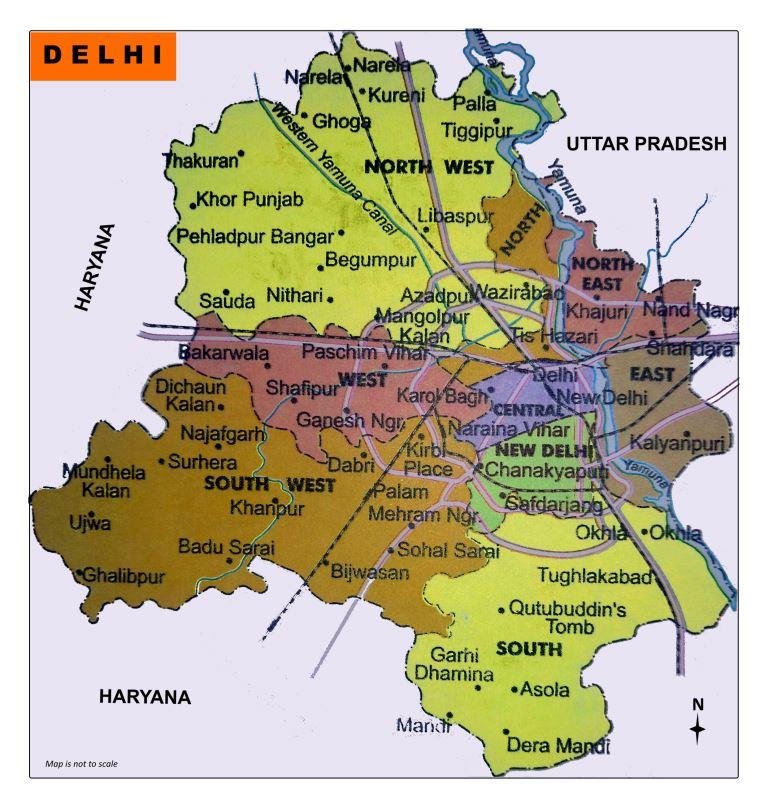 Download Delhi Map