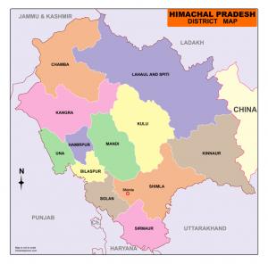 Download Himachal Pradesh Map