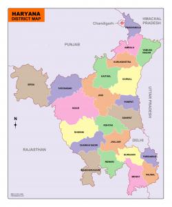 download Haryana map free
