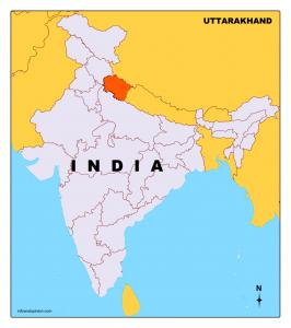Uttarakhand Map- Download Free Map Of Uttarakhand In Pdf ...
