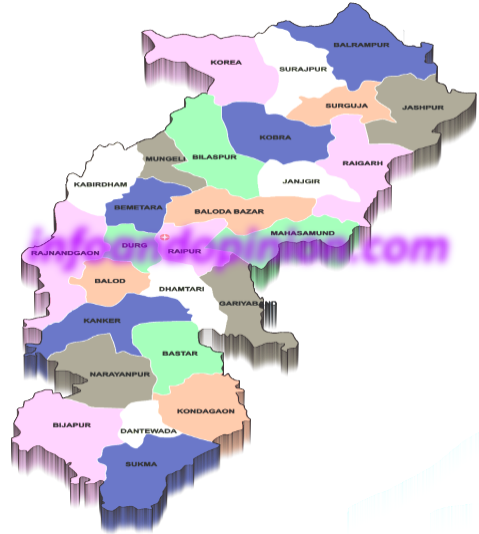 List of districts in chhattisgarh