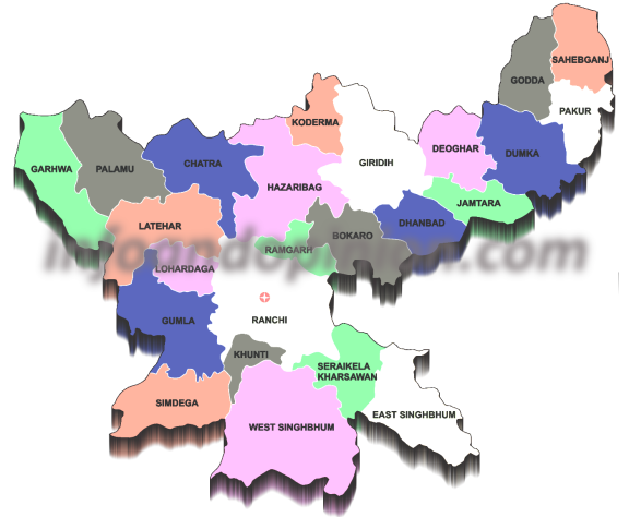 Districts in Jharkhand