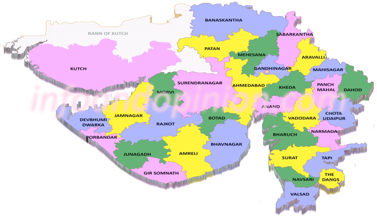 List of districts in Gujarat