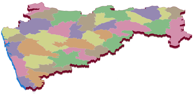 Districts in Maharashtra