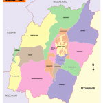 Downlopad Manipur Map