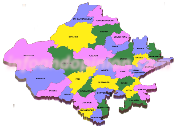 List of Districts in Rajasthan