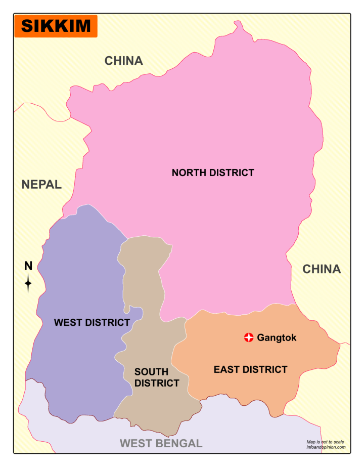 Download Sikkim Map
