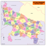 Download Uttar Pradesh Map