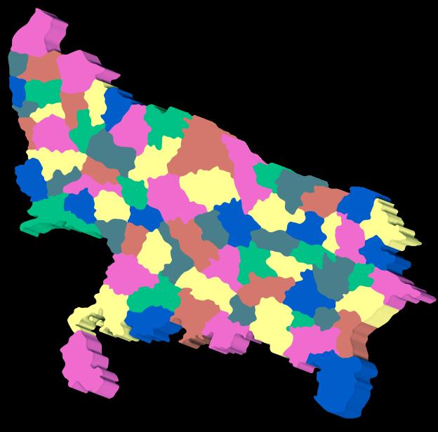 List of districts in Uttar pradesh