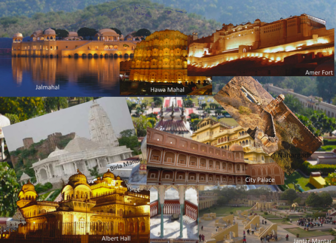 Important Tourist Places in Jaipur