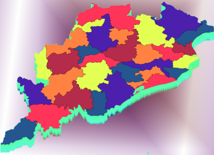 List of Districts in Odisha
