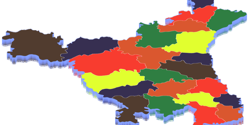 List of Districts of Haryana